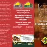 Christkindlmarkt 2014 - Flyer